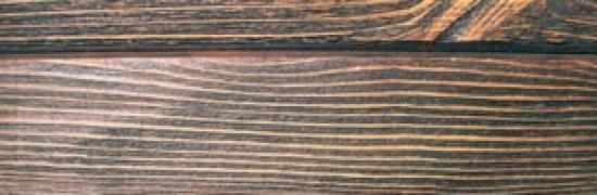Применение искусственно состаренной древесины